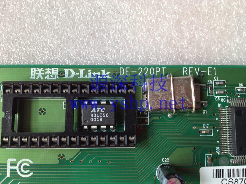 上海源深科技 上海 联想 d-link de-220pt rev-e1 isa rj45 10m网卡