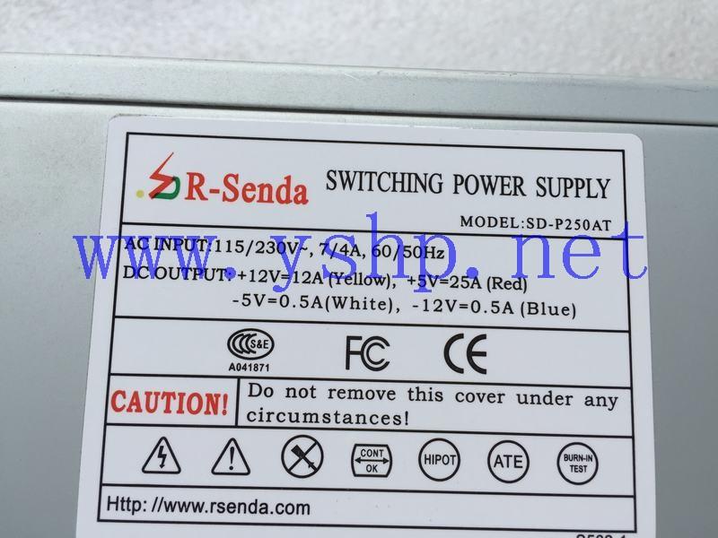 上海源深科技 上海 工业设备 工控机 专用AT电源 SD-P250AT 高清图片