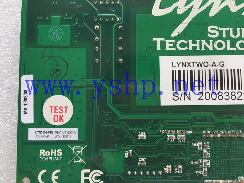 上海源深科技 LYNXTWO-A-G LYN5002-01G REV B3 高清图片